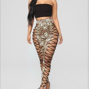 Bring out the Animal Lace Up Pants